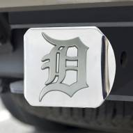 Detroit Tigers Chrome Metal Hitch Cover