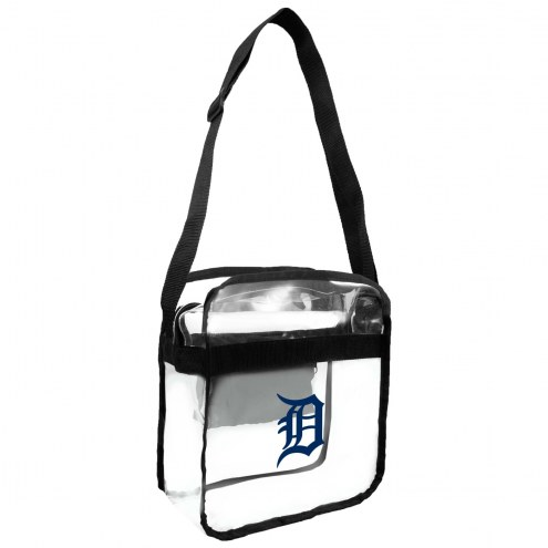 Detroit Tigers Clear Crossbody Carry-All Bag