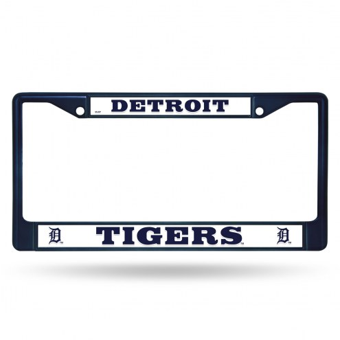 Detroit Tigers Color Metal License Plate Frame