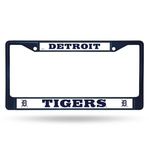 Detroit Tigers Color Metal License Plate Frame