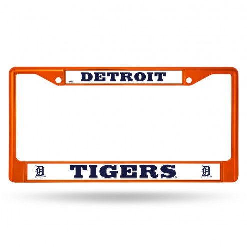 Detroit Tigers Colored Chrome License Plate Frame