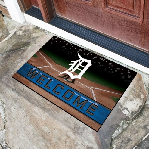 Detroit Tigers Crumb Rubber Door Mat