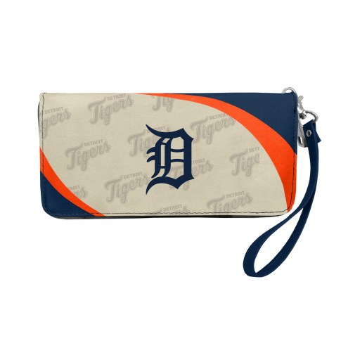 Detroit Tigers Curve Zip Organizer Wallet