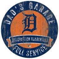 Detroit Tigers Dad's Garage Sign