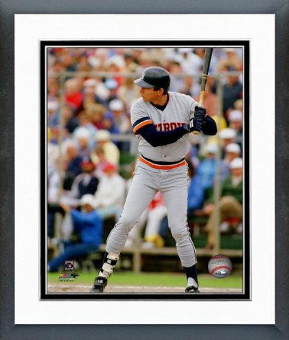 Detroit Tigers Darrell Evans Batting Framed Photo