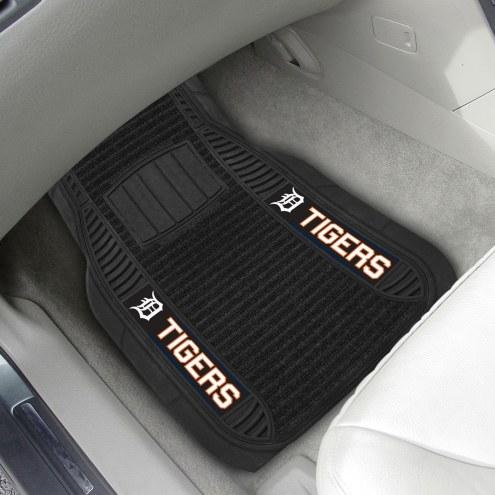 Detroit Tigers Deluxe Car Floor Mat Set