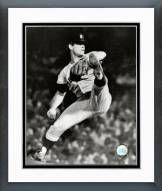 Detroit Tigers Denny McLain 1968 Action Framed Photo