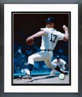 Detroit Tigers Denny McLain Action Framed Photo