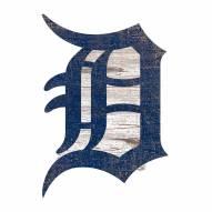 Detroit Tigers Distressed Logo Cutout Sign