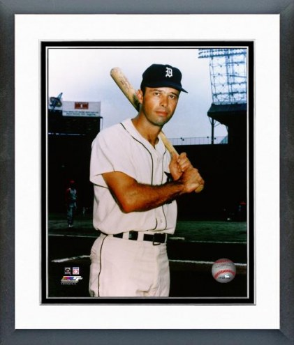 Detroit Tigers Eddie Mathews Posed Framed Photo