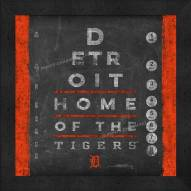Detroit Tigers Eye Chart