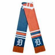 Detroit Tigers Colorblock Big Logo Scarf