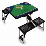Detroit Tigers Folding Picnic Table