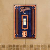 Detroit Tigers Glass Single Light Switch Plate Cover