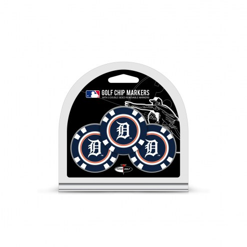 Detroit Tigers Golf Chip Ball Markers