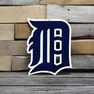 "Detroit Tigers Gothic D 12"" Steel Logo Sign"