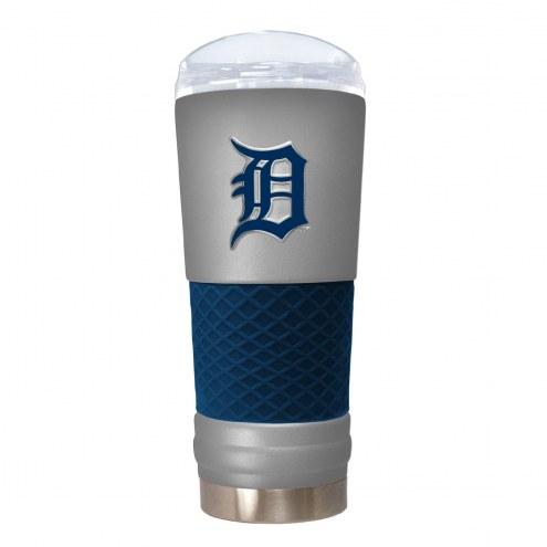 Detroit Tigers Gray 24 oz. Powder Coated Draft Tumbler