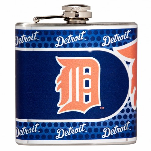 Detroit Tigers Hi-Def Stainless Steel Flask