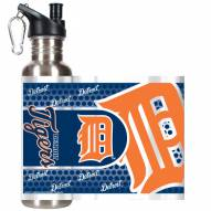 Detroit Tigers Hi-Def Stainless Steel Water Bottle