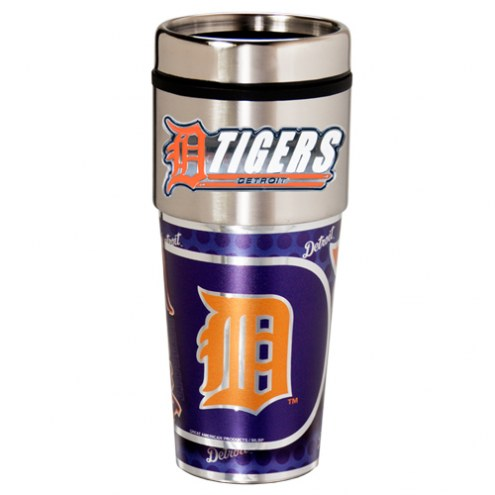 Detroit Tigers Hi-Def Travel Tumbler
