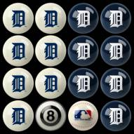 Detroit Tigers MLB Home vs. Away Pool Ball Set