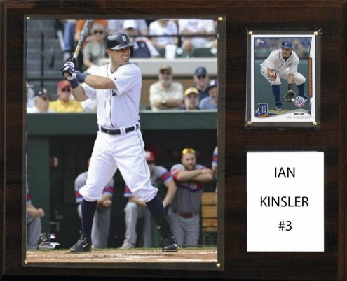 "Detroit Tigers Ian Kinsler 12"" x 15"" Player Plaque"