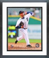 Detroit Tigers Ian Krol Action Framed Photo