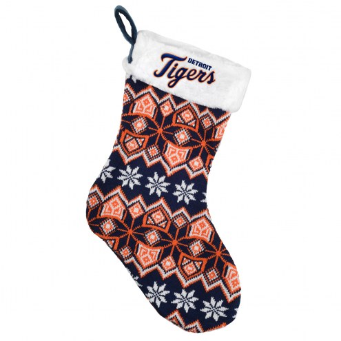 Detroit Tigers Knit Christmas Stocking