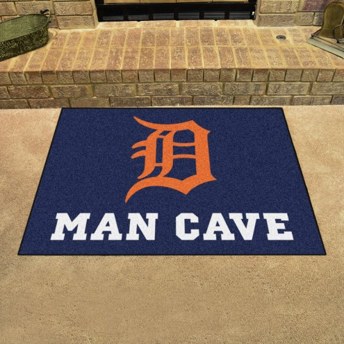 Detroit Tigers Man Cave All-Star Rug