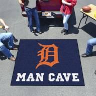 Detroit Tigers Man Cave Tailgate Mat