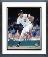 Detroit Tigers Mark Fidrych pitching Framed Photo