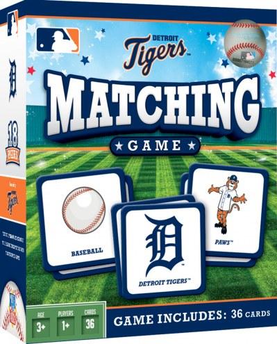 Detroit Tigers Matching Game