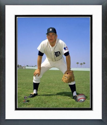 Detroit Tigers Mickey Stanley posed Framed Photo