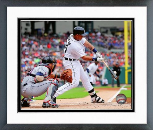 Detroit Tigers Miguel Cabrera Action Framed Photo