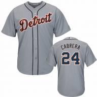 Detroit Tigers Miguel Cabrera Replica Road Baseball Jersey