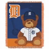 Detroit Tigers MLB Baby Blanket