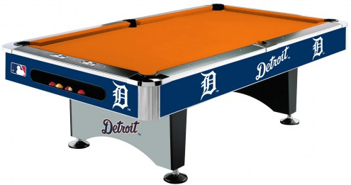Detroit Tigers MLB Pool Table