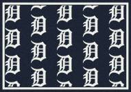 Detroit Tigers MLB Repeat Area Rug