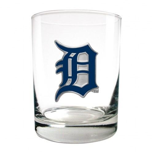 Detroit Tigers MLB 2-Piece 14 Oz. Rocks Glass Set
