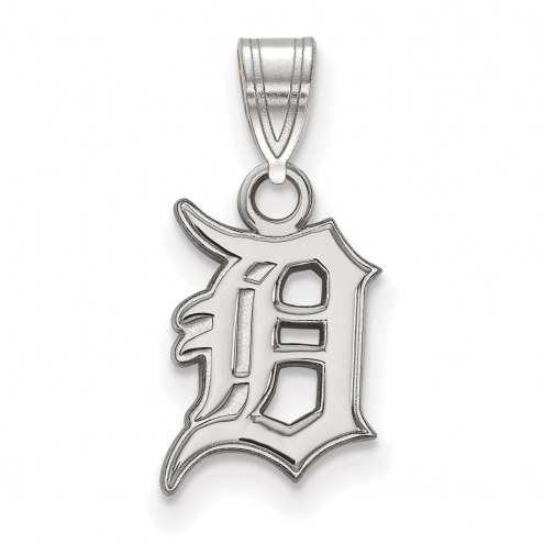 Detroit Tigers Sterling Silver Small Pendant
