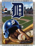 Detroit Tigers MLB Woven Tapestry Throw Blanket