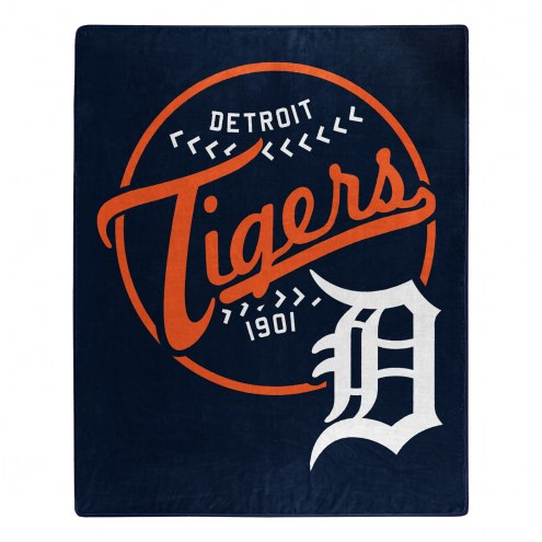 Detroit Tigers Moonshot Raschel Throw Blanket