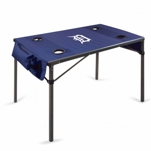 Detroit Tigers Navy Travel Table