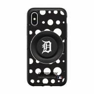 Detroit Tigers OtterBox Symmetry Polka Dot PopSocket iPhone Case