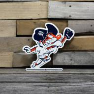 "Detroit Tigers Outfield Kitty 12"" Steel Logo Sign"