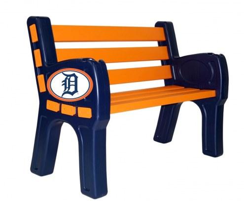 Detroit Tigers Park Bench