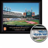 Detroit Tigers 11 x 14 Personalized Framed Stadium Print