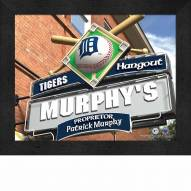 Detroit Tigers 11 x 14 Personalized Framed Sports Pub Print