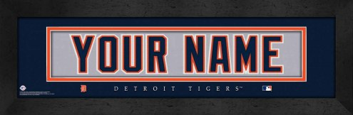 Detroit Tigers Personalized Stitched Jersey Print