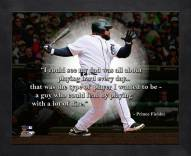 Detroit Tigers Prince Fielder Framed Pro Quote